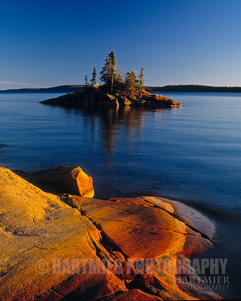 small Island,Lake Superior Ontario