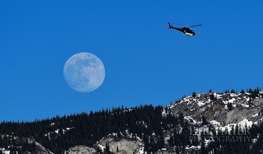 Super Moon Flyby