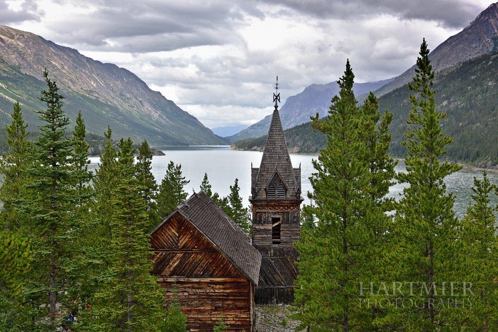 Gold Rush Church,Bennett, BC