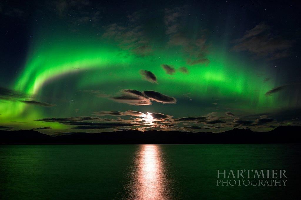 Moonrise at Lake Lebarge